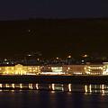 Llandudno Promenade At Night. by Christopher Rowlands