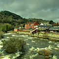 Llangollen Station  by Rob Hawkins