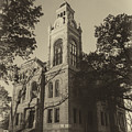 Llano County Courthouse - Vintage by Stephen Stookey