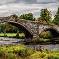 Llanrwst Bridge Panorama by Adrian Evans