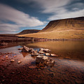 Llyn Y Fan Fach Black Mountain by Leighton Collins