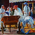 Loading The Cart by Carolyn Epperly