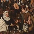 Loarte, Alejandro De Madrid , 1590 - Toledo, 1626 The Poultry Vendor 1626. by Loarte Alejandro De