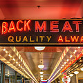 Loback Meat Co Neon by Stephen Stookey