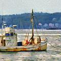 Lobster Boat by Judy Coggin