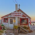 Lobster Landing Sunset by Edward Fielding