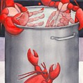 Lobster Spa by Catherine G McElroy