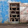 Lobster Trap Storage-1 by Steve Somerville