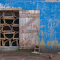 Lobster Trap Storage-2 by Steve Somerville