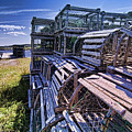 Lobster Traps In The Sun by Sven Brogren