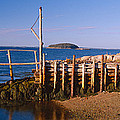 Lobster Village In Autumn, Stonington by Panoramic Images