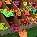 Local Apples For Sale by Mitch Spence
