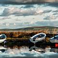 Loch Harray Dawn Iv by M M Rainey