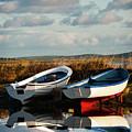 Loch Harray Dawn V by M M Rainey