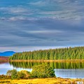 Loch Kinardochy Reflections by Chris Thaxter