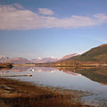 Loch Leven And Morvern Hills Winter2 by Iain MacVinish