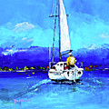 Loch Lomond Sail by Peter Tarrant