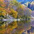 Loch Lubnaig In Autumn by John McKinlay