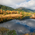 Loch Lubnaig Reflections by Jamie Glenday