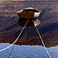 Loch Maree Boat by Bill Buchan