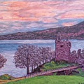 Loch Ness, Urquhart Castle by Robbie Potter
