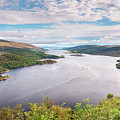 Loch Riddon And Isle Of Bute by David Head