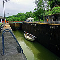 Lock 34/35 Boating West by Joseph Coulombe