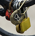 Lock With Rhinestones by Teresa Otto