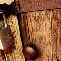 Locked Barn by Matthew Justis