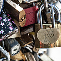 Locked In Paris Vi by Helen Northcott