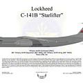 Lockheed C-141b 60maw Grey by Arthur Eggers
