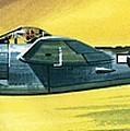 Lockheed P-38j Lightning by Wilf Hardy