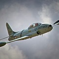 Lockheed P-80 Shooting Star 2011 Chino Air Show by Gus McCrea