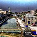 Lockport Canal Locks by William Norton