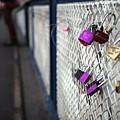 Locks On Bridge by Piotr Kuzniar