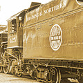 Locomotive And Coal Car Of Yesteryear by A Gurmankin
