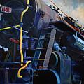 Locomotive Oil Study by Steven Ward