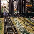 Locomotive Tracks by Catherine Melvin