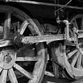 Locomotive Wheels by Tim Hightower