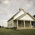 Locust Prairie One Room School Aged by Jennifer White