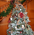 Lodge Lobby Tree by Ginny Barklow