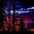Lodge Sunset by Ed Ostrander
