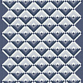 Log Cabin Blues Quilt by Jean Plout