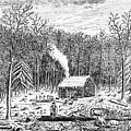 Log Cabin, C1800 by Granger