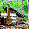 Log Cabin V by Stan Hamilton