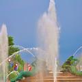 Logan Circle Fountain 2 by Bill Cannon