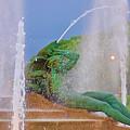 Logan Circle Fountain 3 by Bill Cannon