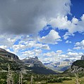 Logan Pass Panorama - Glacier National Park by Bruce Lemons