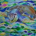 Loggerhead Turtle by Tracey Harrington-Simpson