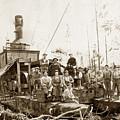Logging, Clemons Camp No. 3 No. 1, Circa 1920 by California Views Mr Pat Hathaway Archives